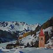 Lago Di Resia Art Print