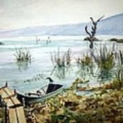 Lago Lull Art Print