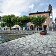 Lago Maggiore Ascona   Art Print