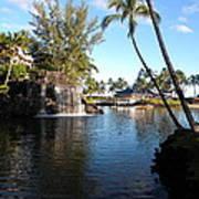 Lagoon Of Hilton Waikoloa Art Print