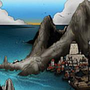 Lagott Island Art Print
