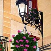 Laguardia Street Lamp  Art Print