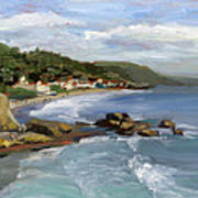 Laguna Beach Print by Alice Leggett