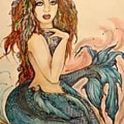 Laguna Blue Art Print