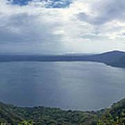 Laguna De Apoyo Nicaragua 2 Art Print