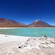 Laguna Verde Bolivia Art Print