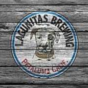 Lagunitas Brewing Art Print