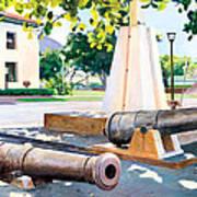 Lahaina 1812 Cannons Art Print