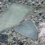 Lahar Deposit Rock Sample Art Print
