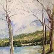 Lake #1 North Little Rock Art Print
