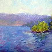 Lake Arrowhead Art Print