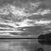 Lake Auburn  7p00297 Art Print
