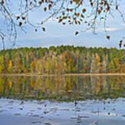 Lake Bailey Petit Jean State Park Art Print