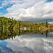 Lake Bodgynydd Art Print