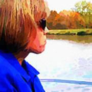Lake Bracken Outting Art Print