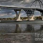 Lake Champlain Bridge Art Print