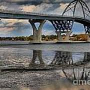 Lake Champlain New Bridge Art Print