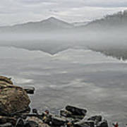 Lake Chatuge Mirror Image Art Print