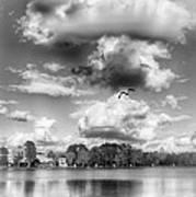 Lake De Soto Art Print