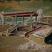 Lake Delores Water Park Art Print