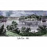 Lake Erie - 1815 Art Print
