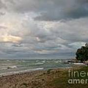 Lake Erie Shore Line II Art Print