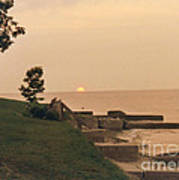 Lake Erie Sunset Art Print