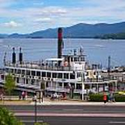 Lake George Cruise Art Print