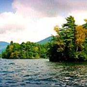 Lake George Islands In Summer Art Print