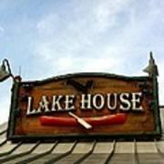 Lake House Art Print