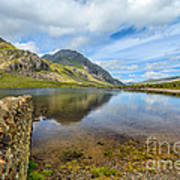 Lake Idwal Art Print