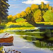 Lake Illawarra At Primbee Art Print