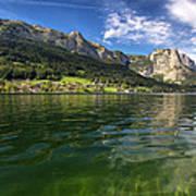 Lake In High Mountains Art Print