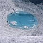 M-05416-lake In Summit Crater On South Sister Art Print