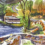 Lake Killarney Impressions Ironton Missouri Art Print