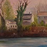 Lake Lefferts  Art Print