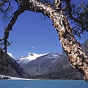 Lake Llanganuco Peru Art Print