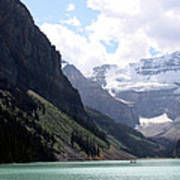 Lake Louise Art Print by Carolyn Ardolino