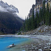 Lake Louise North Shore - Canada Rockies Print by Daniel Hagerman