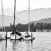 Lake Lucerne Switzerland  Art Print by Nian Chen