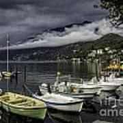Lake Maggiore Ascona Art Print