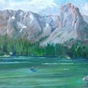 Lake Mamie Art Print