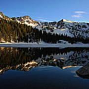 Lake Mary Brighton Utah Art Print