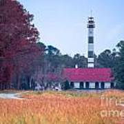 Lake Mattamuskeet Pumping Station Art Print