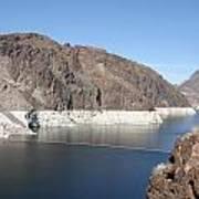 Lake Mead At Hoover Dam 2 Art Print