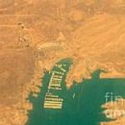 Lake Mead From The Air Art Print