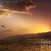 Lake Mead Sunrise Art Print