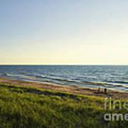 Lake Michigan Shoreline 01 Art Print