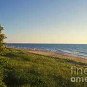 Lake Michigan Shoreline 05 Art Print