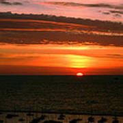 Lake Michigan Sunrise Art Print